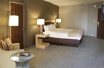 Guestroom at Plaza Hotel and Casino - Las Vegas in Las Vegas