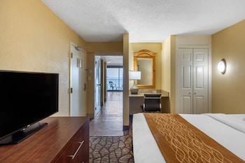 Guestroom at Comfort Inn & Suites Virginia Beach – Oceanfront in Virginia Beach
