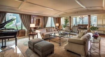 Manila Peninsula Living Room
