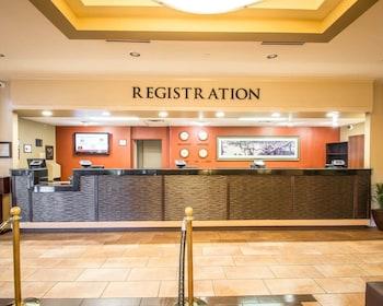 Lobby at Clarion Inn Lake Buena Vista, a Rosen Hotel in Orlando
