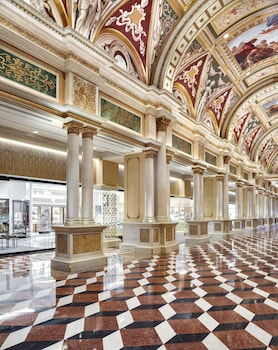 Interior Entrance at The Venetian Resort Las Vegas in Las Vegas