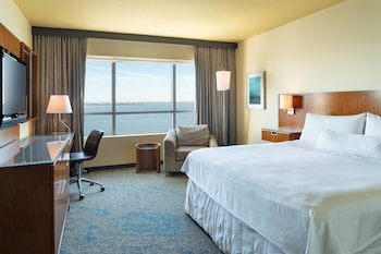 Room, 1 King Bed, Non Smoking, Bay View (Partial Bay View)
