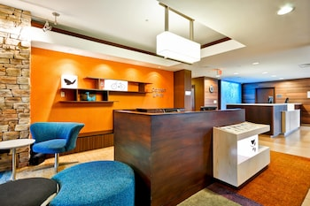 Business Center at Fairfield Inn & Suites Dallas Medical/Market Center in Dallas