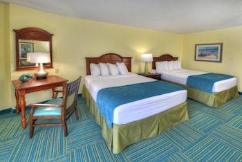 Standard Room, 2 Queen Beds, Kitchenette, Ocean View