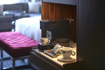In-Room Coffee at JW Marriott San Francisco Union Square in San Francisco