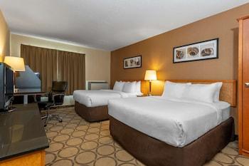 Standard Room, 2 Double Beds, Non Smoking, Second Floor