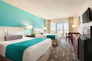Room, 2 Double Beds, Non Smoking (Obstructed Oceanfront)