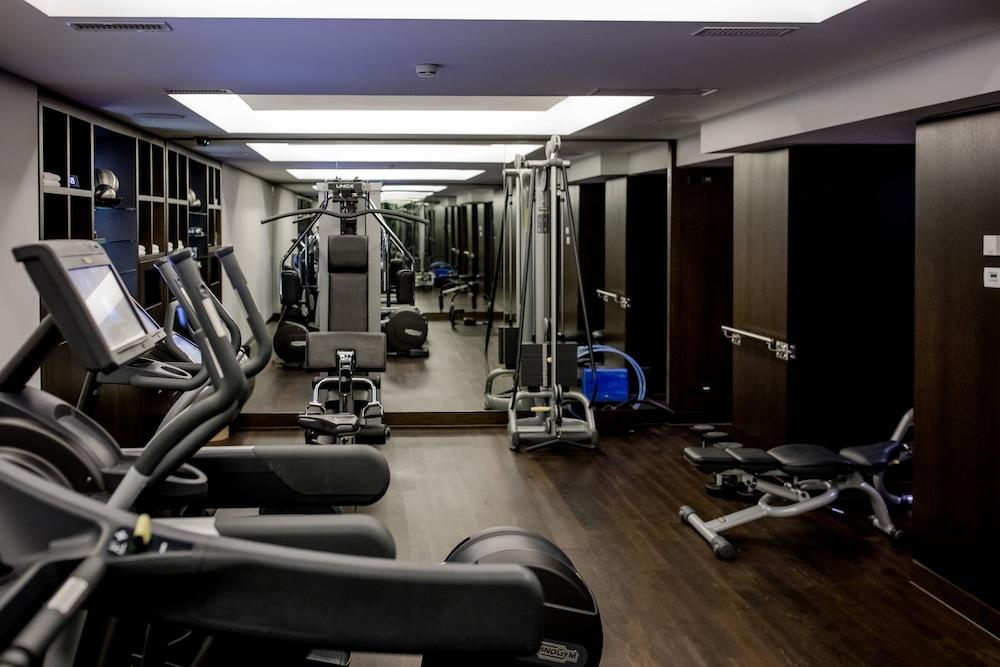 호텔 슈바이처호브 베른 & 더 스파(Hotel Schweizerhof Bern & THE SPA) Hotel Image 49 - Gym