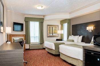 Standard Room, 2 Queen Beds, Fireplace, Tower