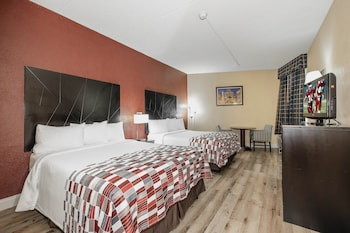 Deluxe Room, 2 Queen Beds, Accessible, Non Smoking (Roll In Shower)