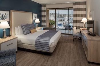 Standard Tek Büyük Yataklı Oda, 1 En Büyük (king) Boy Yatak, Engellilere Uygun, Marina Manzaralı