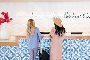 Concierge Desk at Hotel Adeline in Scottsdale