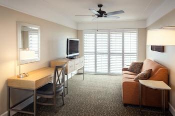 Living Area at Diamond Head Inn in San Diego