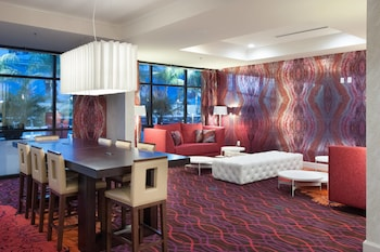 Lobby at Delta Hotels by Marriott Orlando Lake Buena Vista in Orlando