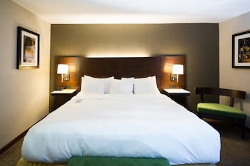 Guestroom at Radisson Hotel Cincinnati Riverfront in Covington