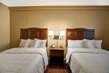 Suite, 2 Queen Beds, Accessible, Non Smoking (Hearing Impaired)