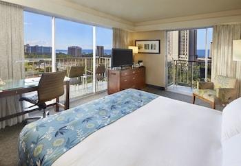 Deluxe Room, 1 King Bed, Partial Ocean View, Corner