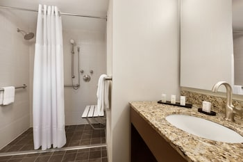 Suite, 2 Queen Beds, Accessible (Roll-in Shower)