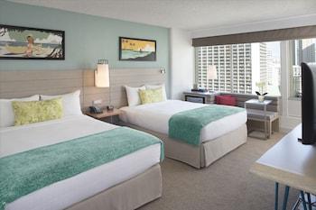 Room, 2 Queen Beds, Balcony, Ocean View