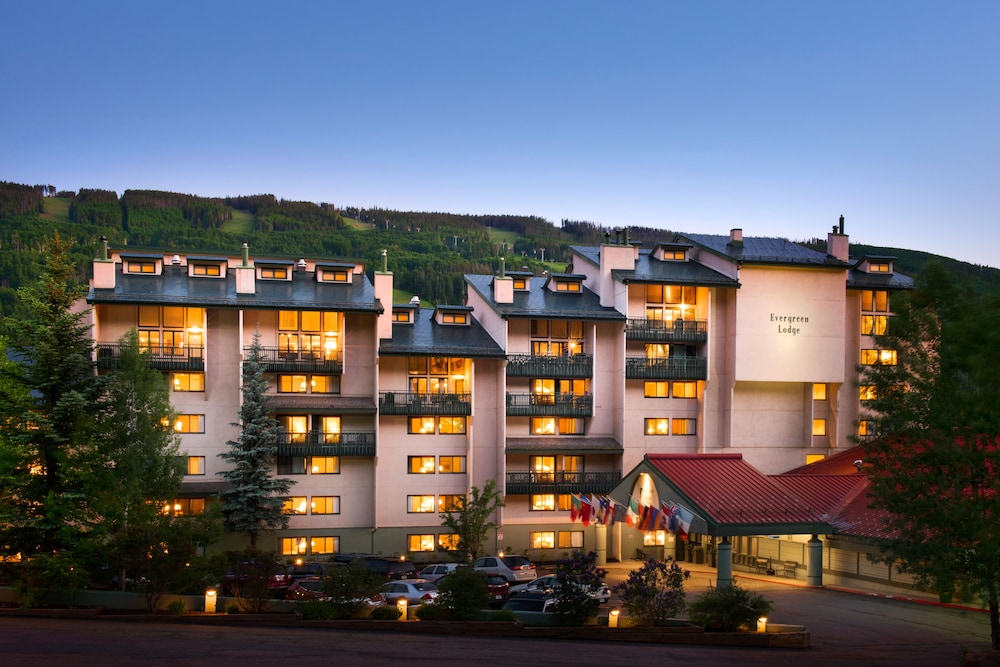 Exterior photo of Evergreen Lodge at Vail