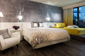 Guestroom at Renaissance New York Times Square Hotel in New York
