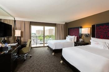 Deluxe Double Room, 2 Double Beds, Balcony