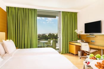Executive Twin Room, Acropolis View, Business Lounge Access