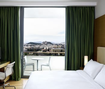 Executive Room, 1 King Bed, Acropolis View, Business Lounge Access