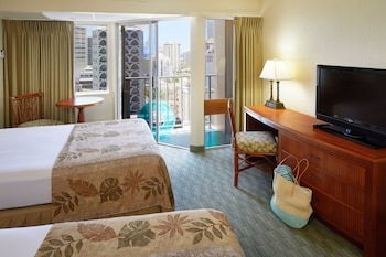 Room, 2 Double Beds (Waikiki View)