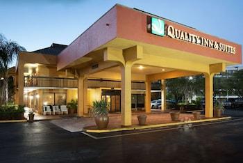 聖彼得堡-克利爾沃特機場凱藝套房飯店 Quality Inn & Suites St. Petersburg - Clearwater Airport
