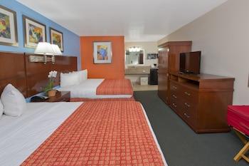 Guestroom at Flamingo Waterpark Resort in Kissimmee