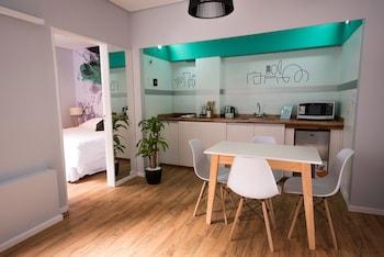 Deluxe Apartment, Kitchenette