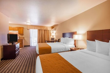 Efficiency, Standard Room, 2 Queen Beds, Non Smoking