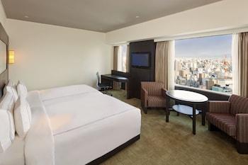 Swiss ダブルルーム ダブルベッド 2 台|スイスホテル南海大阪