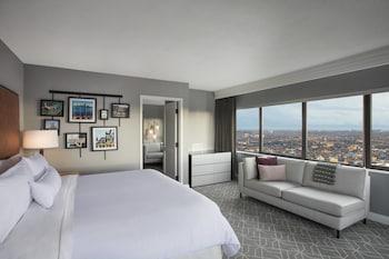 Executive Suite, 1 Bedroom, City View, Corner