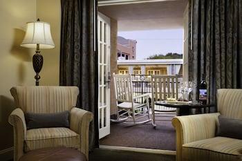 Balcony View at King Charles Inn in Charleston