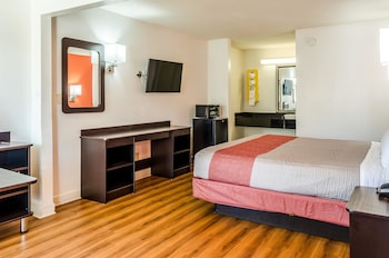 Standard Room, 1 King Bed, Accessible, Refrigerator & Microwave (Roll-in Shower)