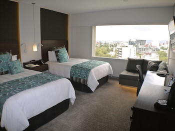 Club Room, 2 Double Beds, View (Polanco View)