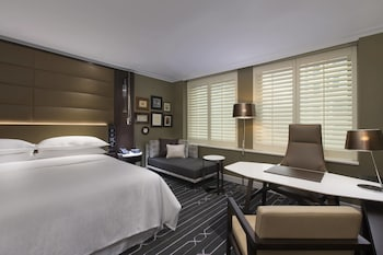 Executive Room, Business Lounge Access (City Side)