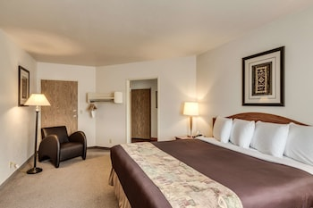 Suite, 1 King Bed with Sofa bed, Non Smoking, Mountain View (with Sofabed)