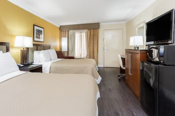 Room, 2 Double Beds, Accessible, Refrigerator & Microwave