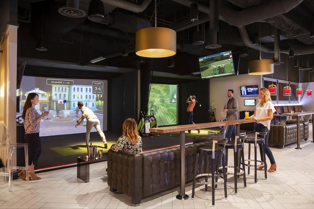 Indoor Golf Driving Range