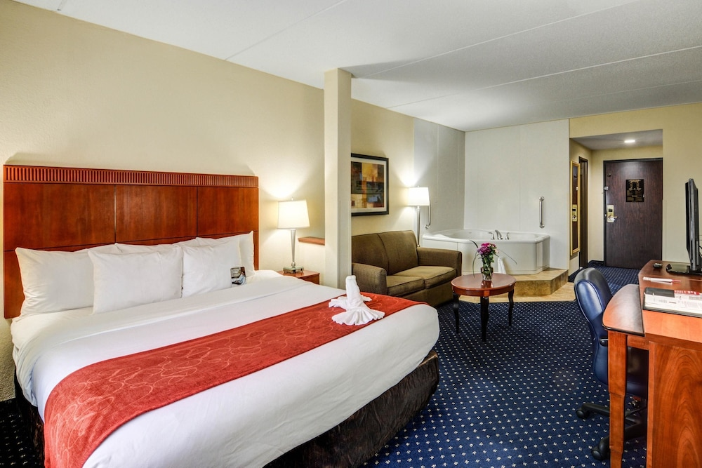 Suite, 1 King Bed with Sofa bed, Accessible, Hot Tub