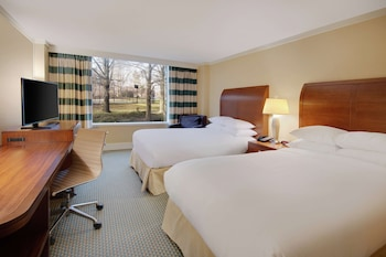 Premium Room, 2 Double Beds, Accessible (Roll-In Shower)