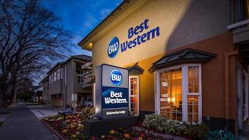 貝斯特韋斯特大學小屋飯店 Best Western University Lodge