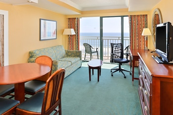 Guestroom at Holiday Inn Express Hotel & Suites Va Beach Oceanfront in Virginia Beach