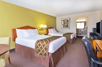 Guestroom at Ramada by Wyndham Pikesville/Baltimore North in Pikesville