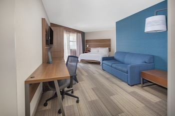 Deluxe Suite, 1 Queen Bed, Accessible, Non Smoking (Hearing, Roll-In Shower)