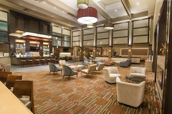 Lobby Lounge at Magnolia Hotel Dallas Park Cities in Dallas