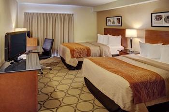 Deluxe Room, 2 Double Beds, Refrigerator & Microwave, Ground Floor